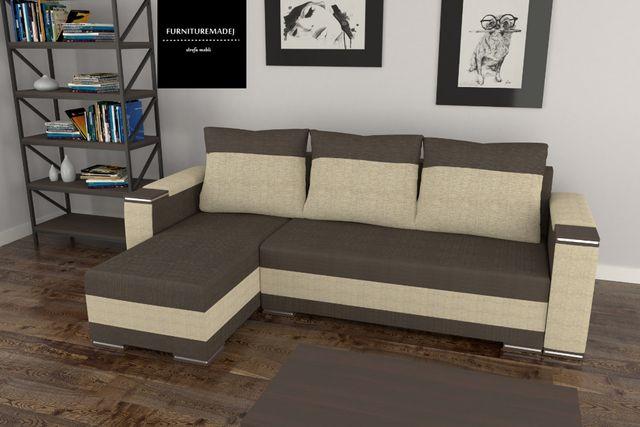 Narożnik, rogówka, sofa rozkładana, łóżko YOGI
