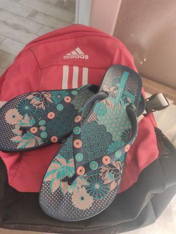 Plecaki adidas japonki klapki Ipanema 37