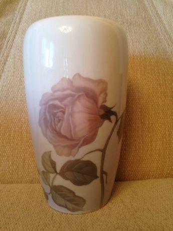 Фарфоровая ваза Роза Royal Copenhagen Дания