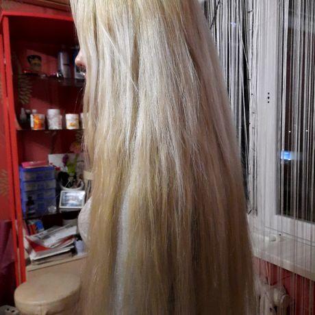 Волосы натуральные.Весс 130 гр.(это приблизительнт250-270микропрядей)