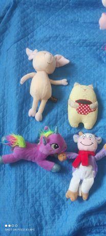 Мягкие игрушки два пакета