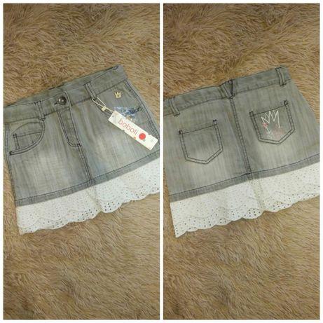 Продам джинсовую юбку Boboli