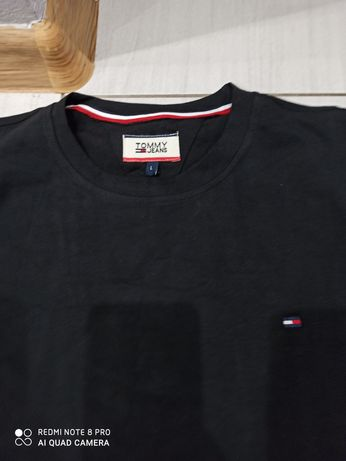 T-shirt Tommy Hilfiger r L czarny albo granat NOWY
