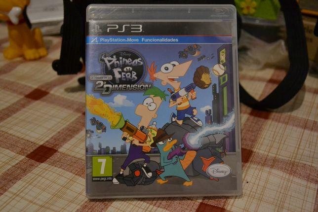 Phineas e Ferb - Através da 2ª dimensão (jogo PS3)