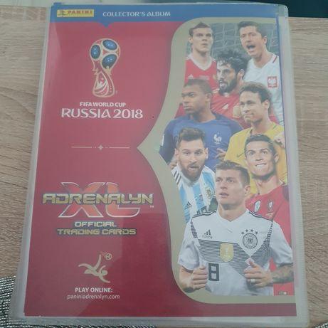 Album Panini MŚ 2018 Rosja karty pelny
