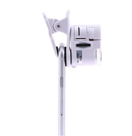 Микроскоп 60х на камеру мобильного телефона