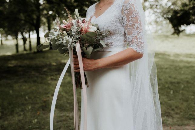 Suknia ślubna Ochocka Atelier 36/38+welon
