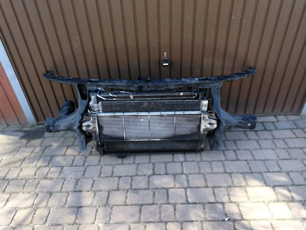 VW t5 volkswagen t5 2.5 tdi pas przedni z chłodnicami
