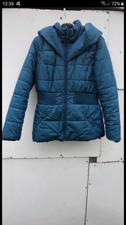 Niebieska kurtka xl  Zimowa pikowana