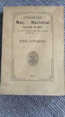 Congresso Maçónico Nacional realizado no Porto 1914