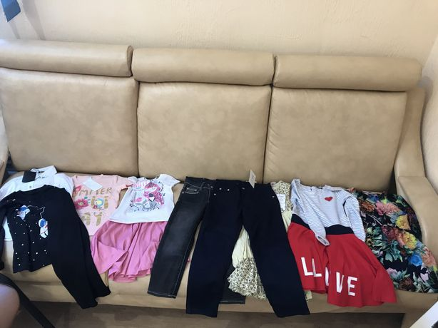 Одежда для девочки 110-116