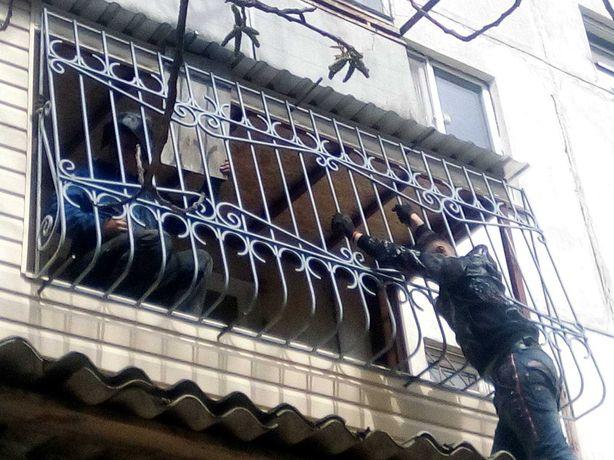 балконы, решетки