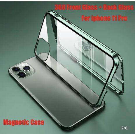 Магнитный чехол на iPhone 12 Pro