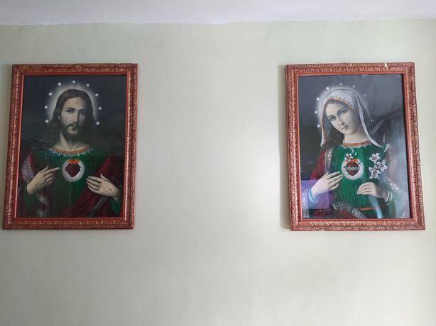 Ікони з рамками, Ісус, Марія, Свята сім'я