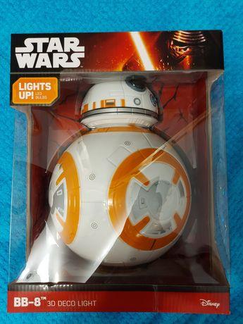 Lampka 3D BB-8 LED nowa Star Wars Gwiezdne Wojny
