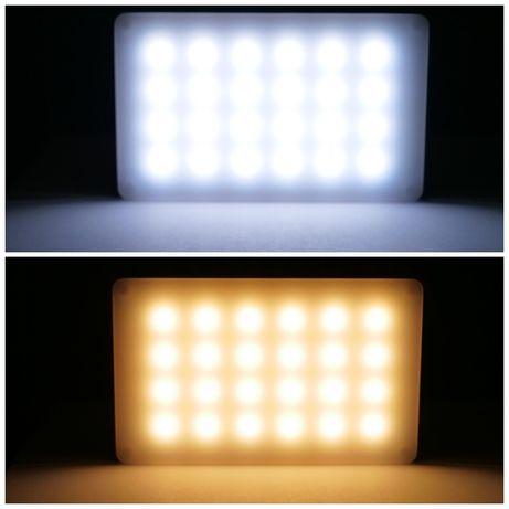 Видеосвет портативный светодиодный свет накамерный