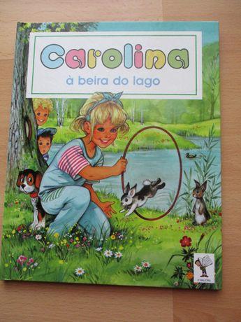 Livro Carolina à Beira do Lago
