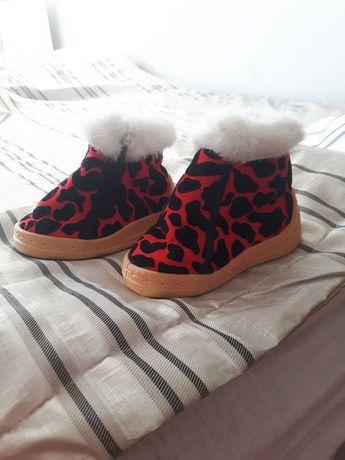 Zimowe buty buciki dla dziecka rozmiar 21