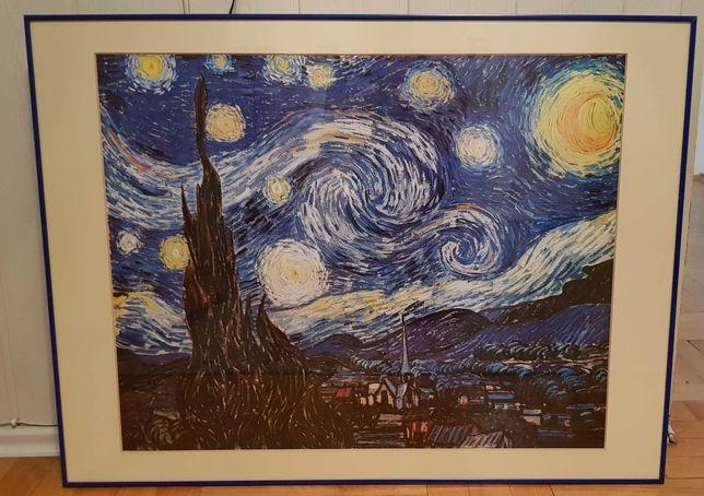 Duży obraz 60x80 + gratis - plakaty- reprodukcja Vincent van Gogh