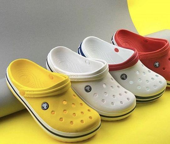 Crocs crocband для всей семьи крокс кроксы
