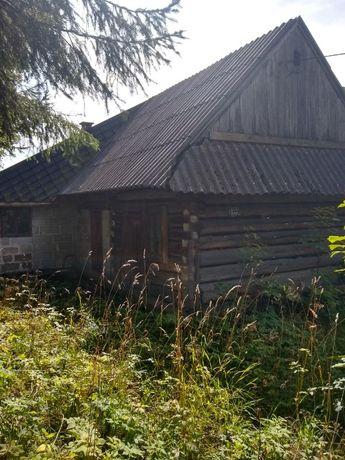 Drewniany domek z sadem w malowniczej, górskiej okolicy - ok. 11 ar