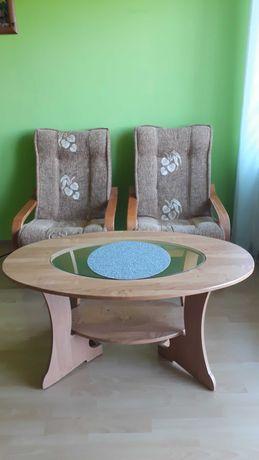 Sprzedam 2 fotele i ławę.