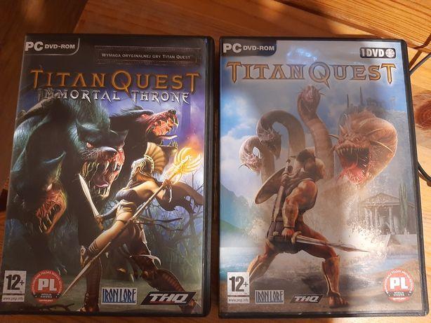 Gra na PC Titan Quest Złota kolekcja w j.polskim