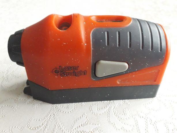 Laserowy miernik poziomu prostego pomarańczowy