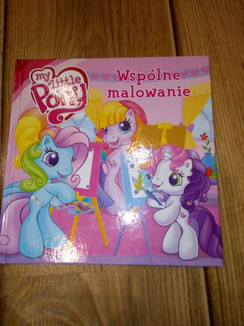 Książka My little pony Wspólne malowanie