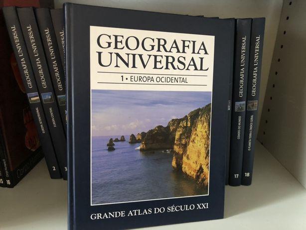 Grande Atlas do Século XXI 18 livros