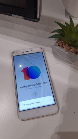 Xiaomi redmi 5a sprawny, pęknięty ekran wszystko działa
