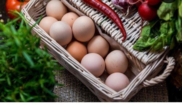 Świeże jaja świeże mleko