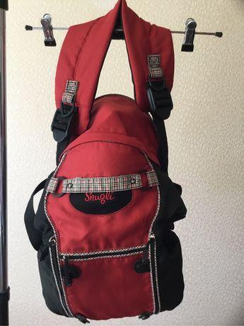 Рюкзак для переноски ребенка- удобно, практично.