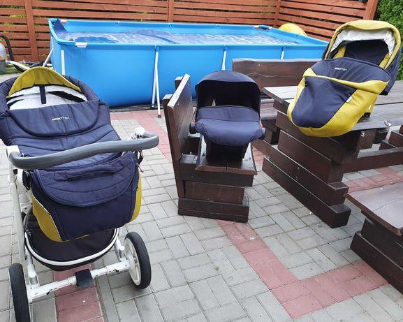 Wózek 3w1 Bebetto