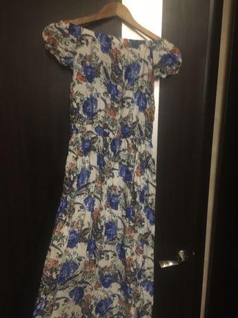 Летнее платье, сарафан в пол.Новое
