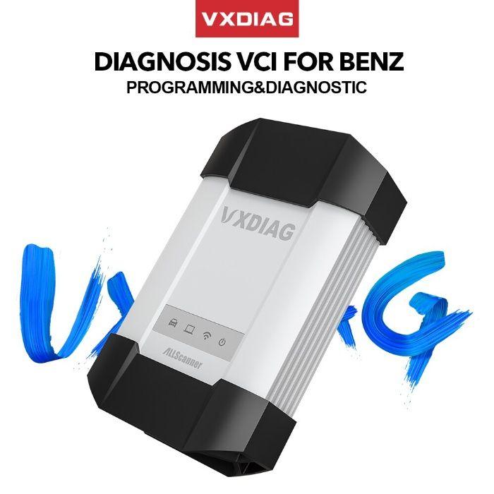 Máq. Diagnostico Auto Vxdiag vcx c6 para Mercedes /BMW XENTRY / DA