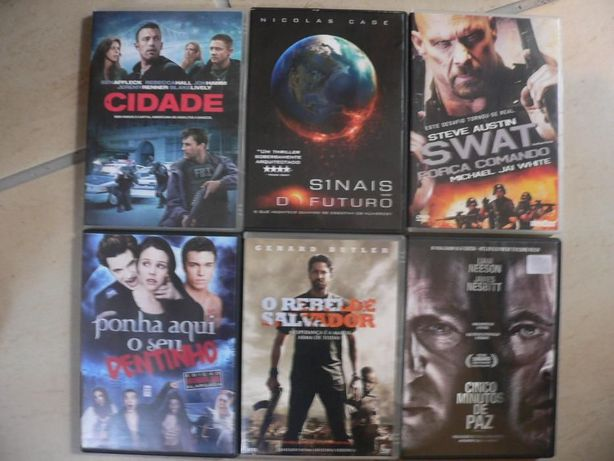 Filmes diversos DVD