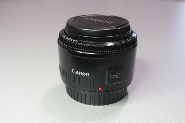 Canon ef 50 mm f/1.8 - 1:1.8 II Портретный объектив