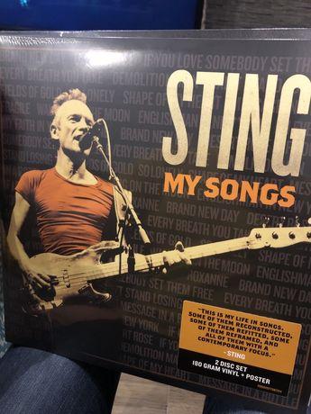Sting my songs vinyl nowy