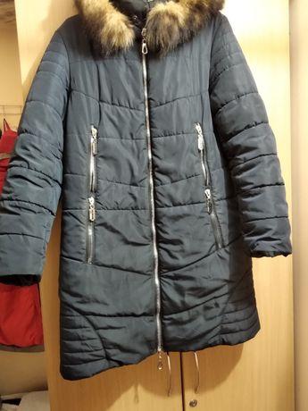 Зимняя куртка , пуховик 48 - 52