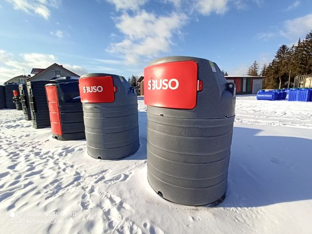 Zbiornik na paliwo ropę 1500l Sibuso