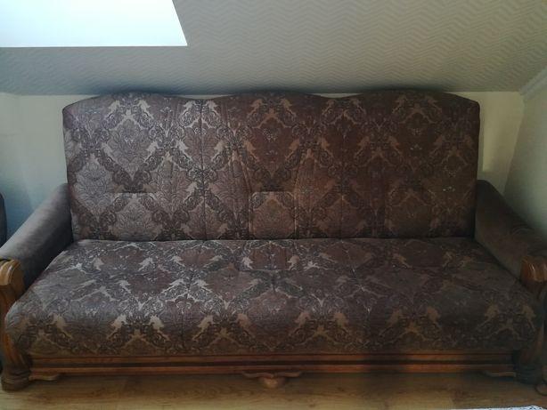 Kanapa i 2 fotele w bardzo dobrym stanie