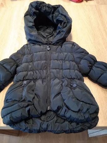 Czarna\ ciemnogranatowa kurtka Reserved roz 68 zimowa