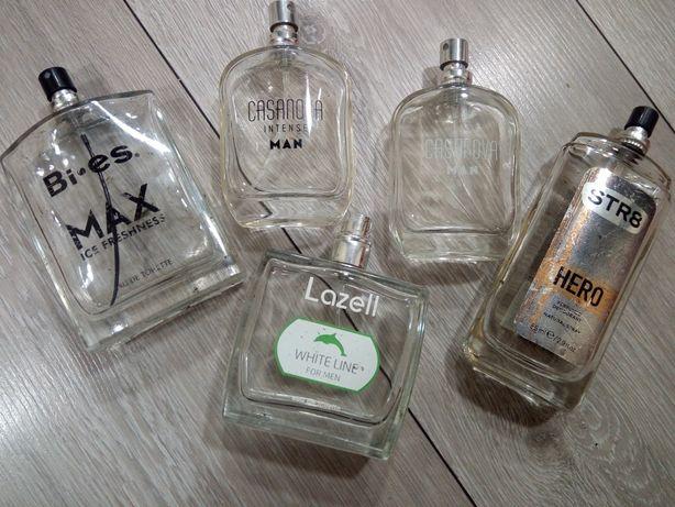 Zestaw perfum męskich Casanova MEN, Lazell, STR8, BIES Max ice