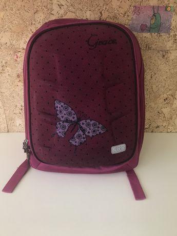 Школьный рюкзак zibi с капюшоном