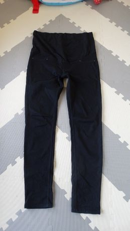 Czarne rurki ciążowe H&M r.46 jak 44