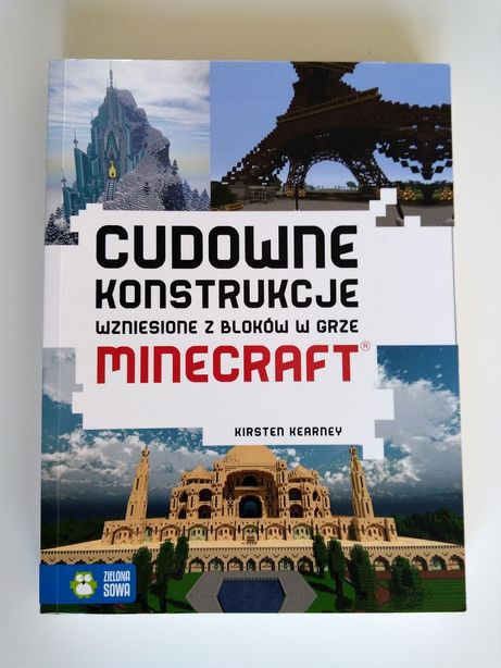 Cudowne konstrukcje wzniesione z bloków w grze Minecraft. K.Kearney