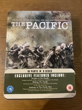 Dvd set Tom Hanks e Steven Spielberg THE Pacific - 5 discos