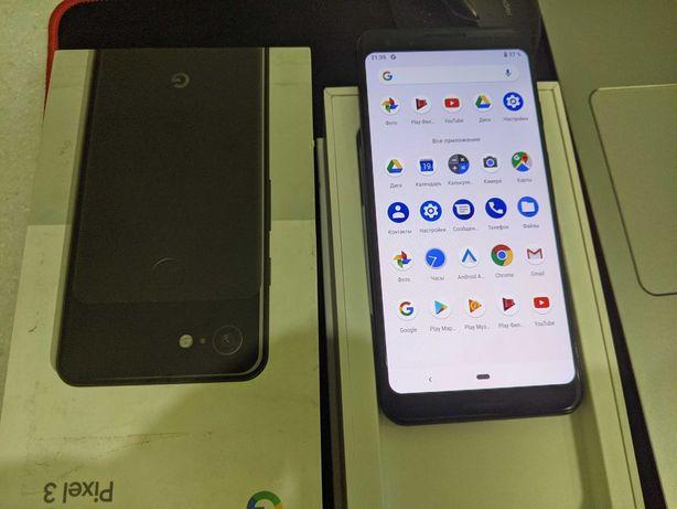Google Pixel 3 64 ГБ е-сим (новый - 9 андроид) защита IP68