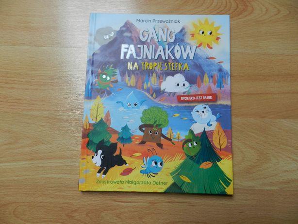 Książka Gang Fajniaków Na tropie Stefanka